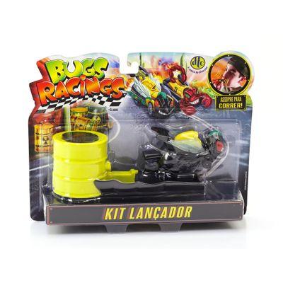 Veiculo-e-Pista-de-Percurso---Bugs-Racing---Lancador---Flyz---DTC