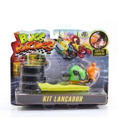Veiculo-e-Pista-de-Percurso---Bugs-Racing---Lancador---Sluggy---DTC