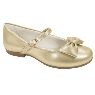 Sapato-para-Bebes---Angel---Dourado---Pampili