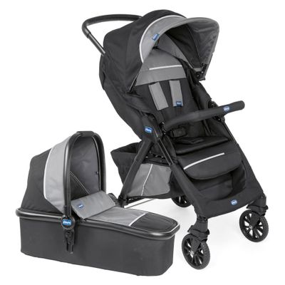 Travel-System-Kwik-One---Jet-Black---Chicco