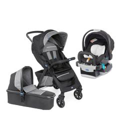 Travel-System-Kwik-One---Jet-Black---Bebe-Conforto---Keyfit-Night---Chicco