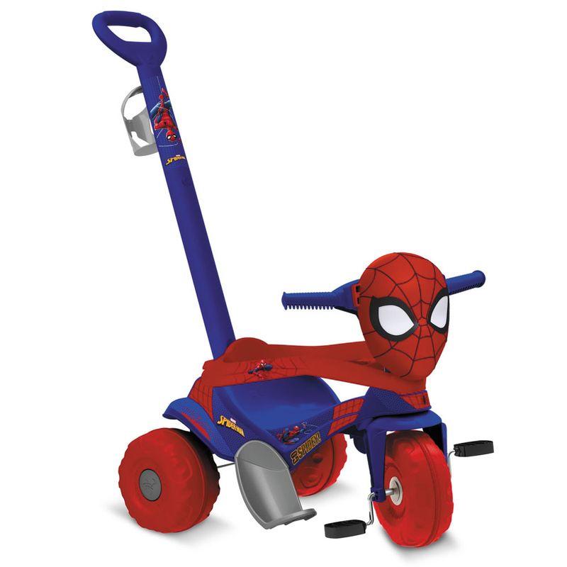 Triciclo De Passeio E Pedal Disney Marvel Homem Aranha