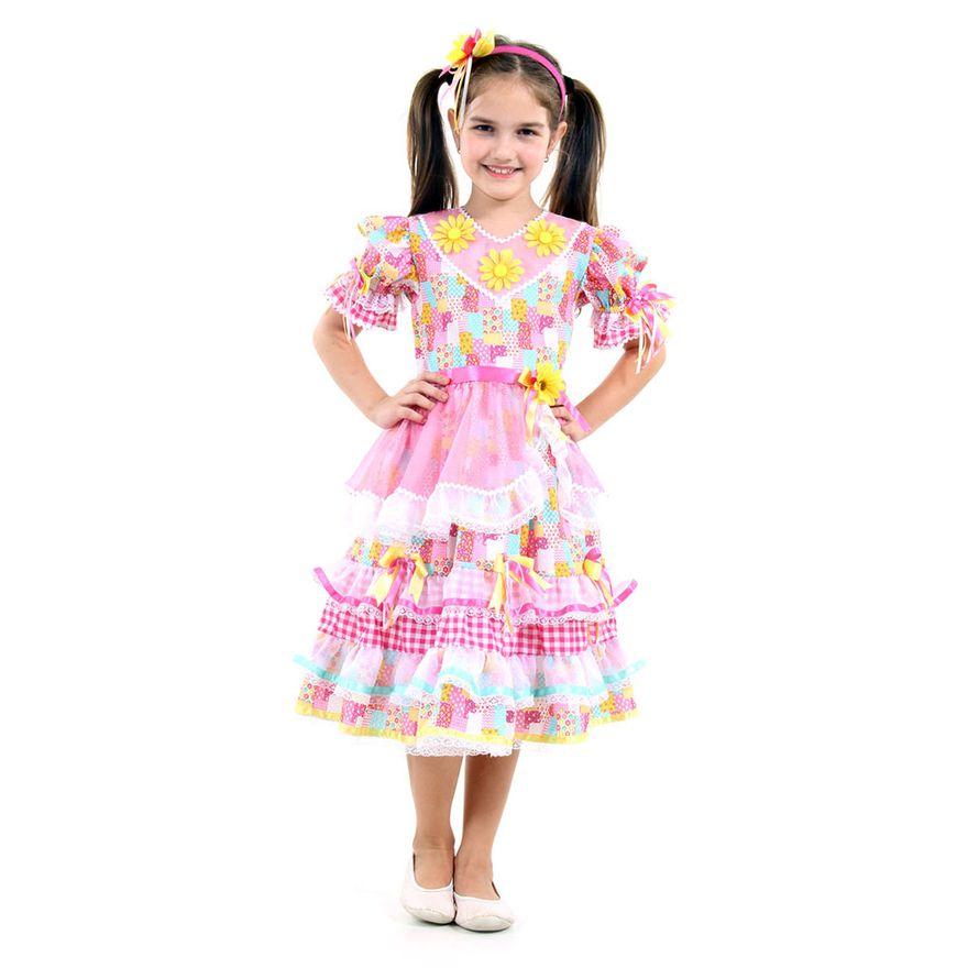 Fantasia-Infantil---Caipira-Ana---Festa-Junina---Sulamericana---P