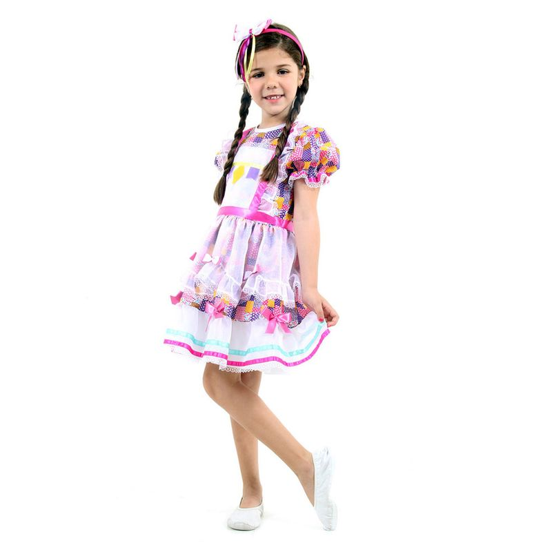 ced4c3f1e4 Fantasia Infantil - Caipira Maria - Festa Junina - Sulamericana - Ri Happy  Brinquedos