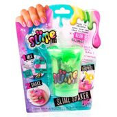 Pote-de-Slime-com-Acessorios-e-Adesivos---Shaker-Colors----Verde---Fun