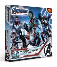 quebra-cabeca-os-vingadores-ultimato-marvel-500-pecas-game-office-toyster-2615_frente