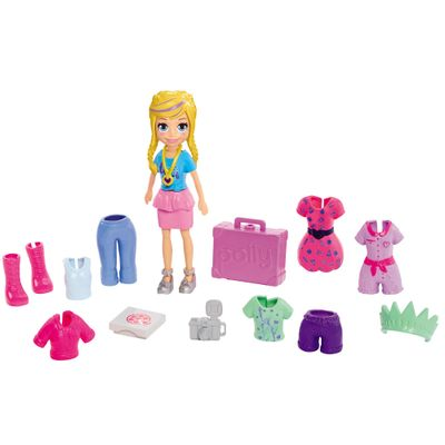 Boneca-Polly-Pocket---Conjunto-de-Viagens-Fashion---Nova-York---Mattel