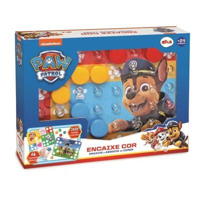 Brinquedo-de-Atividades---Encaixe-Cor---Patrulha-Canina---Elka
