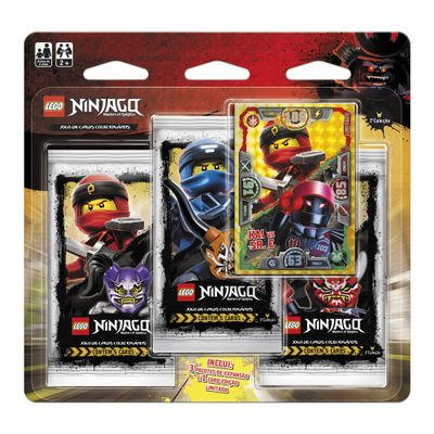 Jogo-de-Cartas---Blister-Triplo---LEGO-Ninjago---Masters-Of-Spinjitzu---Kai-Vs-Sr.-E---Copag