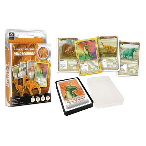 Jogo de Cartas SuperCopag Dinossauros Copag