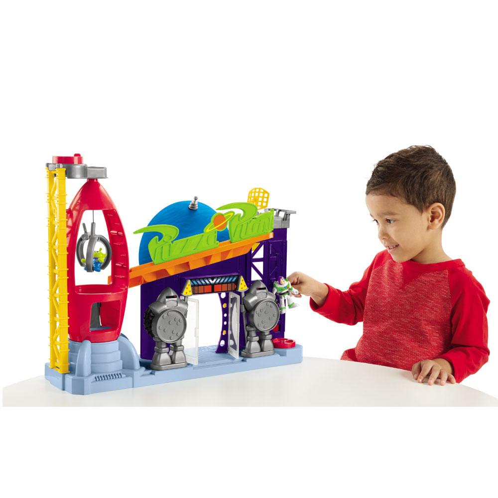 Playset 41 Cm e Mini Figuras - Imaginext - Disney - Toy Story 4 - Pizza Planet - Fisher-Price