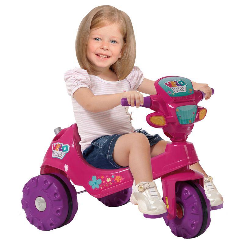 Triciclo de passeio - Velobaby