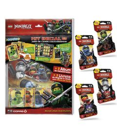 Kit-de-Album-e-20-Cartas---LEGO-Ninjago---Masters-Of-Spinjitzu---Copag
