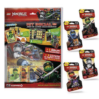 Kit-de-Album-e-20-Cartas---LEGO-Ninjago---Masters-Of-Spinjitzu---Copag