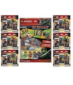Kit-de-Album-e-96-Cartas---LEGO-Ninjago---Masters-Of-Spinjitzu---Copag