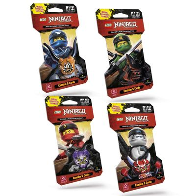 Kit-de-Cartas-Colecionaveis---LEGO-Ninjago---Masters-Of-Spinjitzu---20-Cartas---Copag