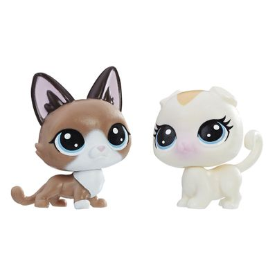 Mini-Figura---Littlest-Pet-Shop---Serie-1---Radar-Snowcat-e-Bella-Scotsfeld---Hasbro_Frente