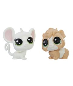 Mini-Figura---Littlest-Pet-Shop---Serie-1---Zoe-Housemouse-e-Guinsey-Pigson---Hasbro_Frente