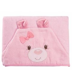toalha-com-capuz-100--algodao-baby-joy-funny-ursinho-rosa-incomfral-04133302010012