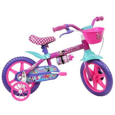 Bicicleta-ARO-12---Disney---Minnie-Mouse---Rosa---Caloi