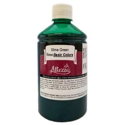 Base para Slime - 500g - Basic Colors - Verde - Reval