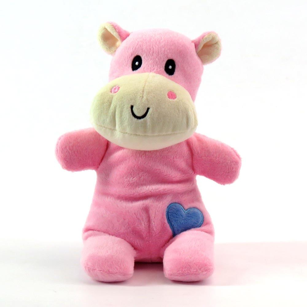 Chocalho com Mordedor - Hipopótamo 20 Cm - Love