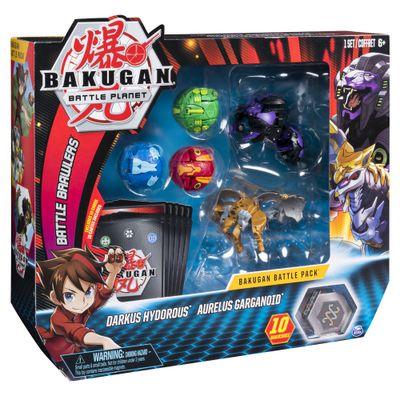 conjunto-figuras-de-batalha-cards-bakugan-darkus-hydorous-e-aurelus-garganoid-sunny-2073_frente
