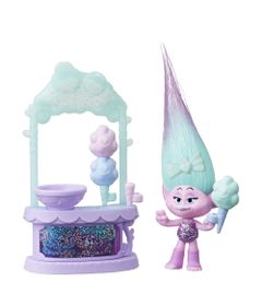 Cenario-e-Mini-Figura---Trolls---Algodao-Doce-da-Cetim---Hasbro