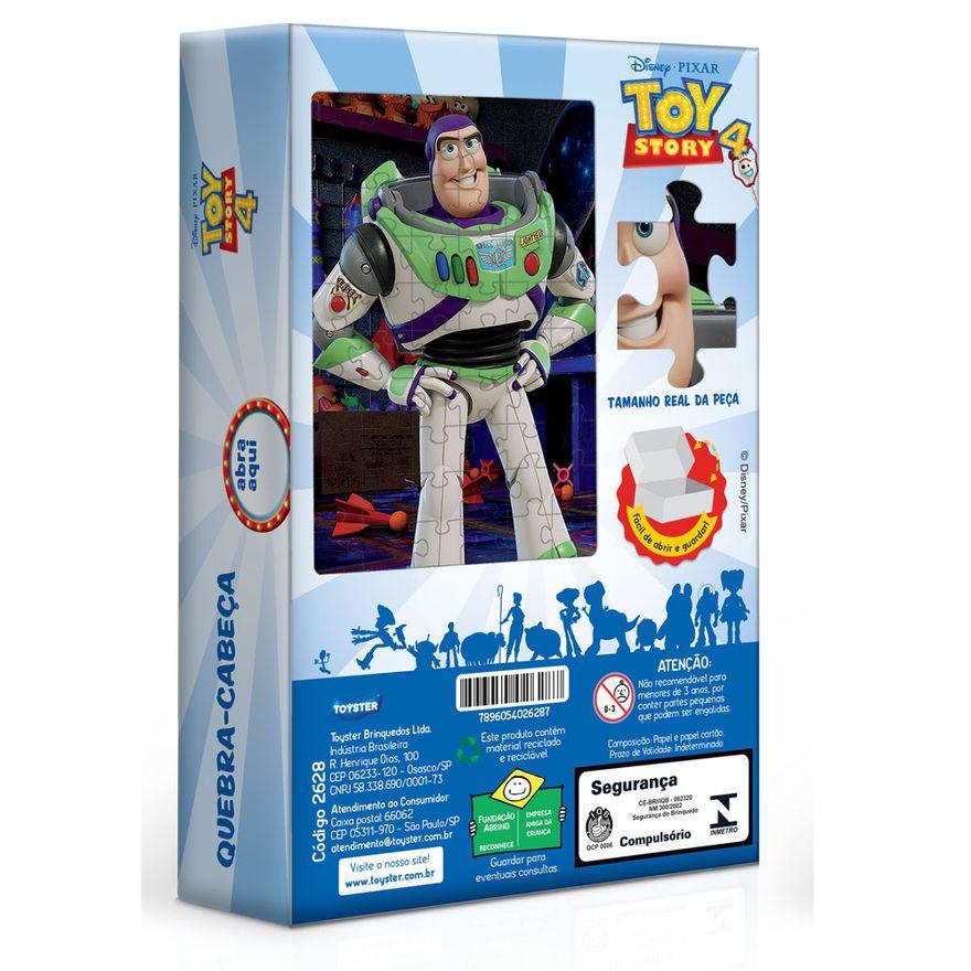 Quebra-Cabeca---60-Pecas---Disney---Toy-Story-4---Buzz---Toyster
