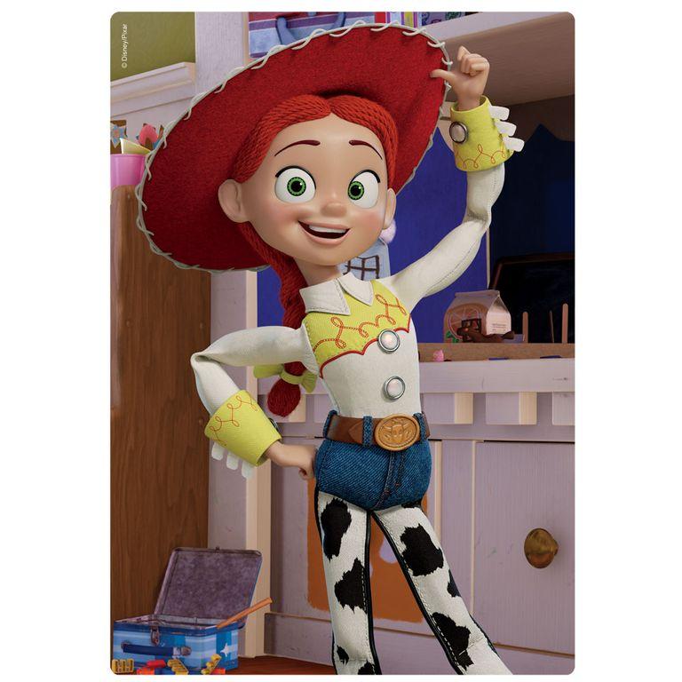 Quebra-Cabeça - 60 Peças - Disney - Toy Story 4 - Jessie - Toyster ...