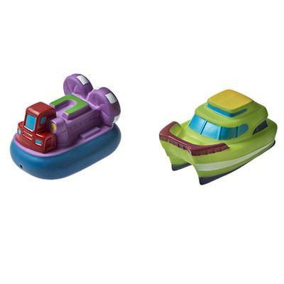 Brinquedo-para-Banho---Barquinhos---Roxo-e-Verde---Girotondo-Baby_Frente
