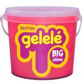 Balde-de-Slime---15-Kg---Big-Gelele-Glitter---Laranja---Doce-Brinquedo