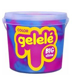 Balde-de-Slime---15-Kg---Gelele-Color---Big-Slaime---Azul-e-Roxo---Doce-Brinquedo