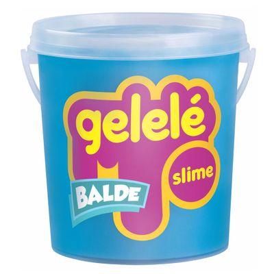 Balde-de-Slime---457-Gr---Gelele---Cores-Tradicionais---Azul---Doce-Brinquedo