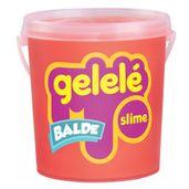 Balde-de-Slime---457-Gr---Gelele---Cores-Tradicionais---Laranja---Doce-Brinquedo