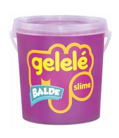 Balde-de-Slime---457-Gr---Gelele---Cores-Tradicionais---Pink---Doce-Brinquedo