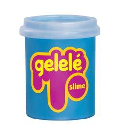 Pote-de-Slime---152-Gr---Gelele---Cores-Tradicionais---Azul---Doce-Brinquedo