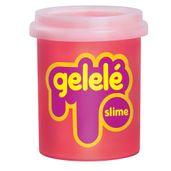 Pote-de-Slime---152-Gr---Gelele---Cores-Tradicionais---Laranja---Doce-Brinquedo