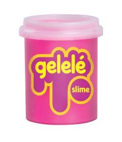 Pote-de-Slime---152-Gr---Gelele---Cores-Tradicionais---Rosa---Doce-Brinquedo