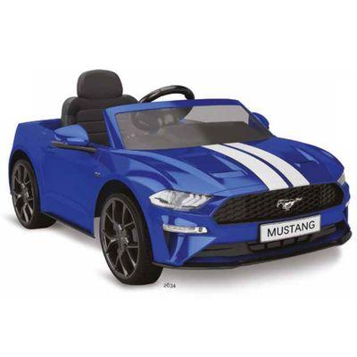 Veiculo-Eletrico---12V---Ford-Mustang---Azul---Bandeirante