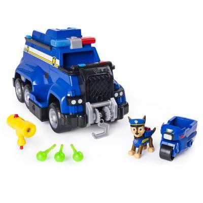 Frente-Veiculo-e-Mini-Figura---Carro-de-Policia---Resgate-Extremo---Patrulha-Canina---Sunny