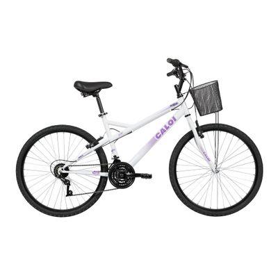 Bicicleta-Aro-26---Caloi-Ventura---Branco---Caloi