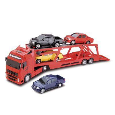 Caminhao-Cegonheira-com-4-Pickups---Roma-Diesel-RX---Vermelho---Roma-Jensen