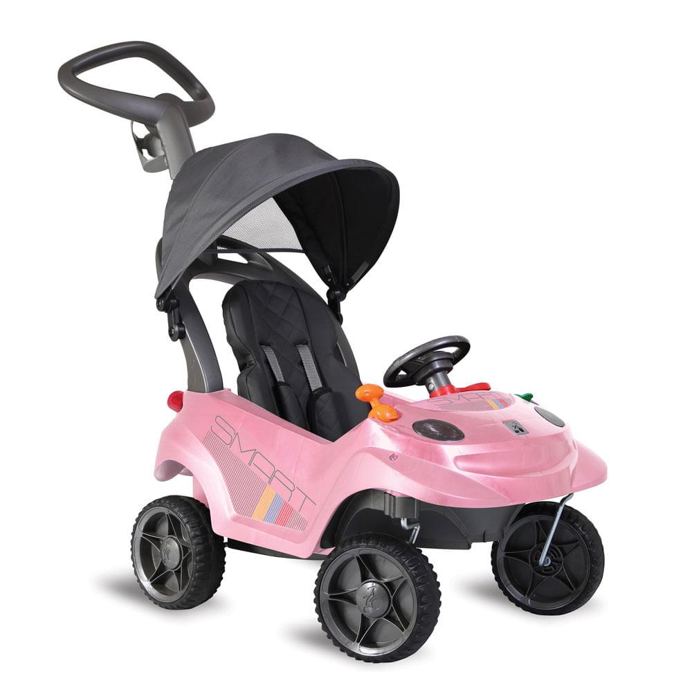 Carrinho de Passeio Smart - Baby Confort - Rosa - Bandeirante