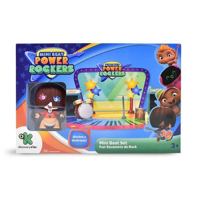 Playset-3D---Mini-Beat-Power-Rockers---Fuz---Multikids