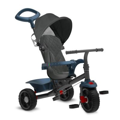Triciclo-de-Passeio-Smart---Reclinavel---Azul---Bandeirante