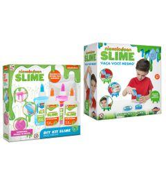 Kit-de-Acessorios---Faca-seu-Slime---Nickelodeon---2-Azuis-e-Rosa-com-Ativador---Toyng