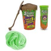 Kit-de-Acessorios---Faca-seu-Slimy---Serie-Ouro-e-Geleca-Slimy-Metalizado---Verde---Toyng