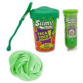 Kit-de-Acessorios---Faca-seu-Slimy---Serie-Verde-e-Geleca-Slimy-Metalizado---Verde---Toyng
