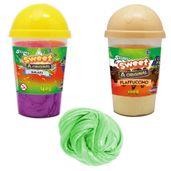 Kit-Geleca---Slimy---Duas-Cores---Milkshake-com-Flapuccino-e-Slimy-Metalizado---Verde---Toyng